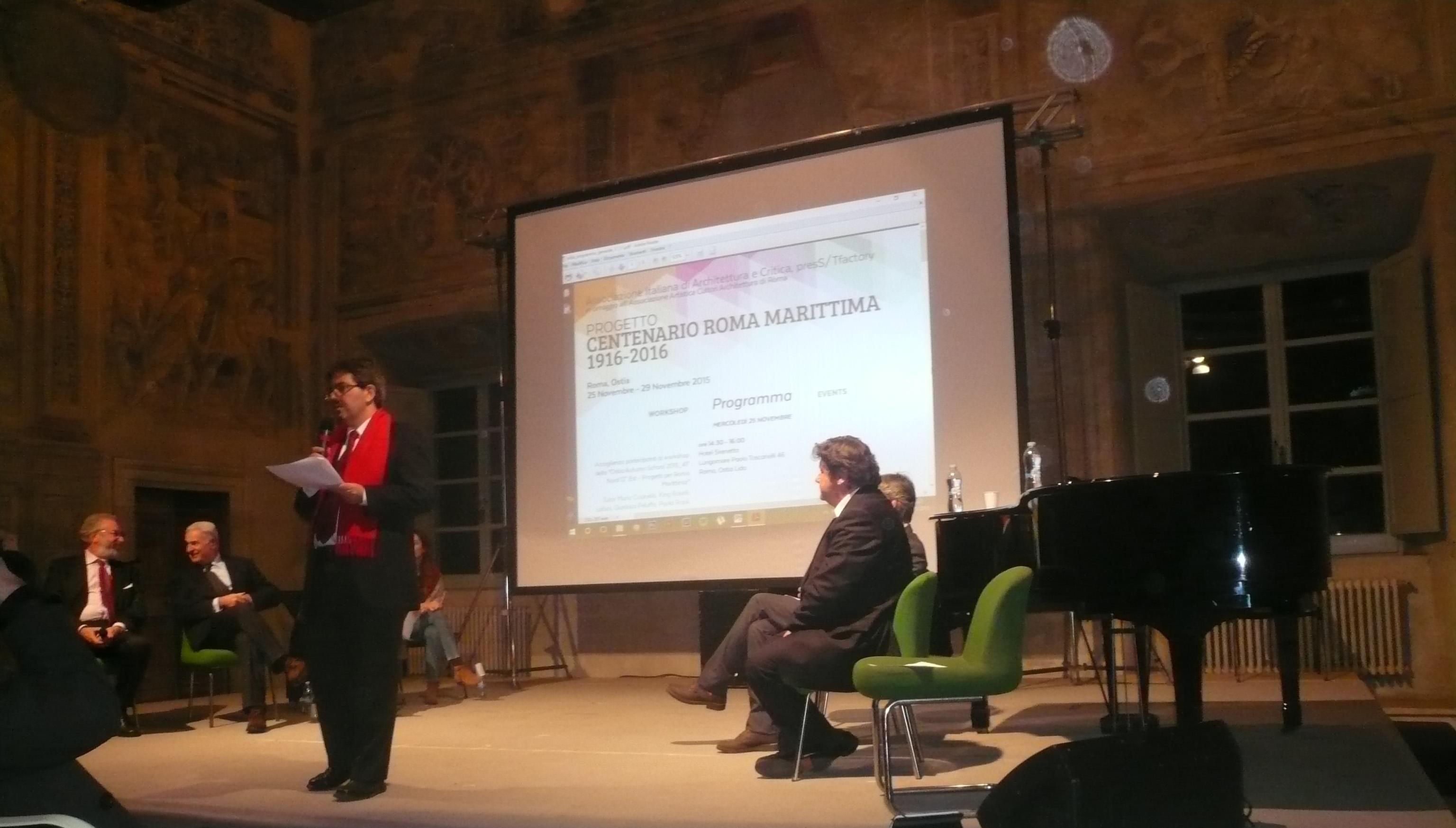Ostia Centenario Roma Marittima - Coordina Marco Maria Sambo